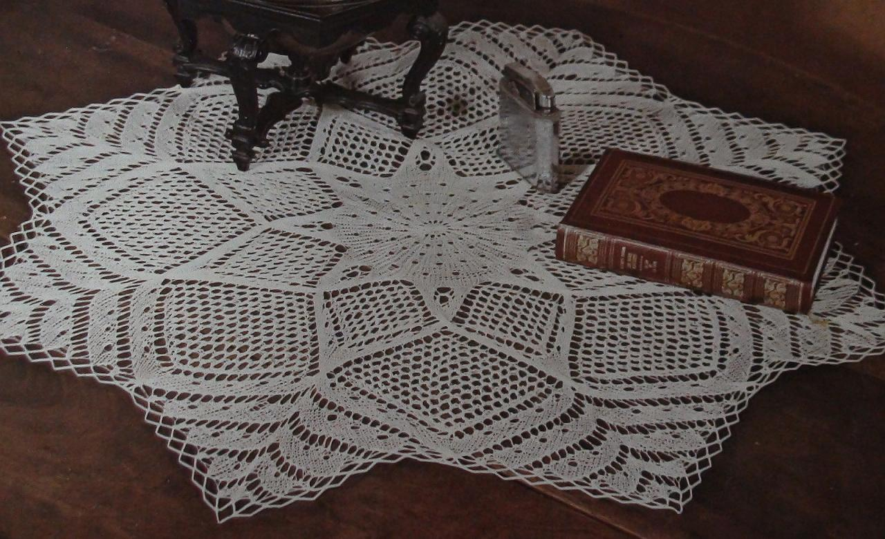 explication napperons crochets phildar